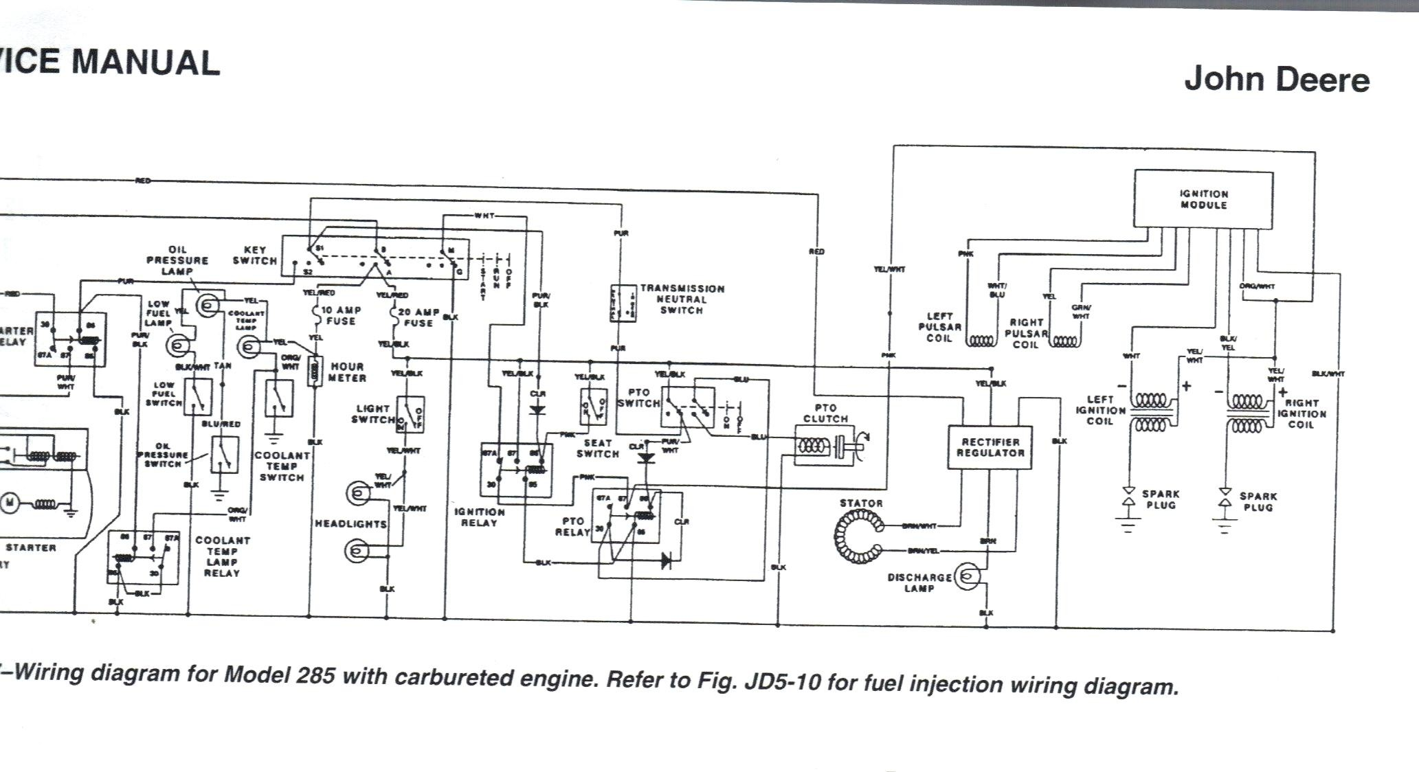 john deere 445 wiring diagram free download wiring diagrams pictures
